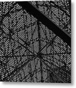 Structural Fish Metal Print