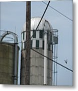 Structure 6 Metal Print