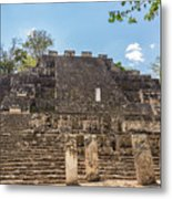 Structure Two In Calakmul Metal Print