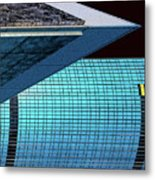 Structures East 3 Metal Print