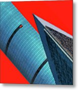 Structures Tilted 2 Metal Print