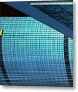 Structures West 2 Metal Print