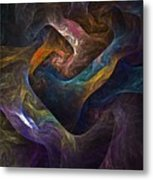 Struggles Metal Print by David Lane
