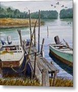 Stuart's Dock  Metal Print