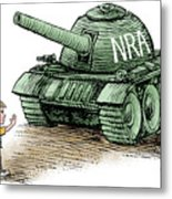 Students Vs The Nra Metal Print