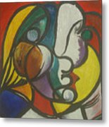 Study After Picasso Metal Print
