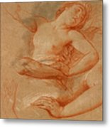 Study For Boreas Abducting Oreithyia Metal Print