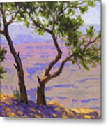 Study For Canyon Portal Metal Print