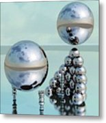 Study In Chrome 1 Metal Print