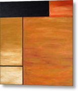 Study Of Rectangles Metal Print