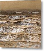 Study Of Waves Metal Print