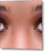 Stunning Eyes Metal Print