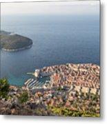 Stunning View Of Dubrovnik In Croatia Metal Print