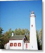 Sturgeon Point Lighthouse, Michigan - Horizontal Metal Print