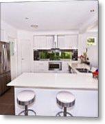 Stylish Modern Kitchen Metal Print