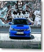 Subaru Metal Print
