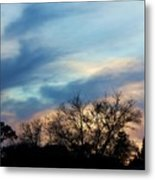 Subdued Sunset Metal Print