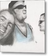 Sublime Trio Metal Print