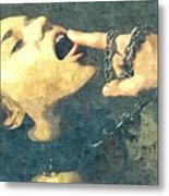 Submission In Colour - Taste It Metal Print