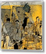 Submitted Cd Cover For The Band Bebop Complex 50's Jazz Revisited Metal Print
