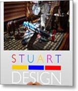 Suburban Safari Poster Metal Print