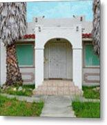 Suburban Surveillance House On Montgomery Avenue Hayward California 6 Metal Print