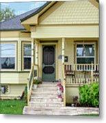 Suburban Victorian Cottage House Hayward California 37 Metal Print