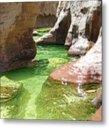 Subway At Zion Metal Print