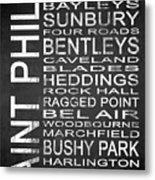 Subway Saint Philip Barbados 1 Metal Print