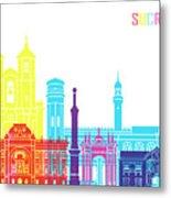 Sucre Skyline Pop Metal Print