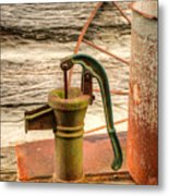 Suction Water Pump Metal Print