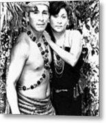 Sucua Shaman And Spouse Metal Print