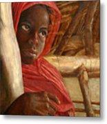 Sudanese Girl Metal Print