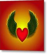 Sufi Heart I Metal Print