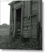 Sugar Cane Shack Metal Print