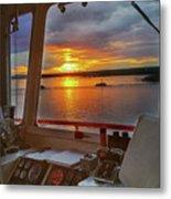 Sugar Islander II Sunrise -0054 Metal Print