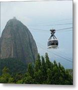 Sugar Loaf Mtn Brazil Metal Print