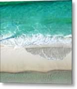Sugar Sand Beach Metal Print