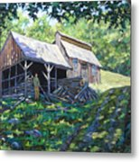 Sugar Shack In July Metal Print