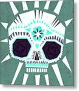 Sugar Skull IIi Metal Print