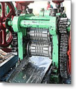 Sugarcane Juice Metal Print
