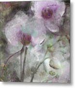Suggestion Of An Orchid Metal Print
