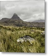 Suilven Mountain Metal Print