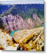 Sulak Canyon Metal Print