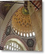 Suleymaniye Arches And Domes Metal Print