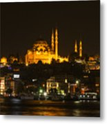 Suleymaniye At Night Metal Print