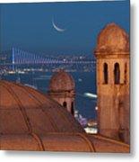 Suleymaniye Metal Print by Salvator Barki