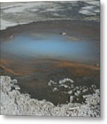 Sulfur Pool Metal Print