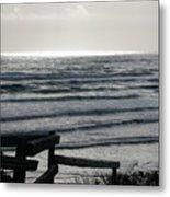 Sullen Seas Metal Print