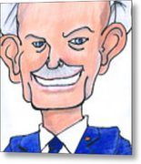 Sully Sullenberger Caricature Metal Print